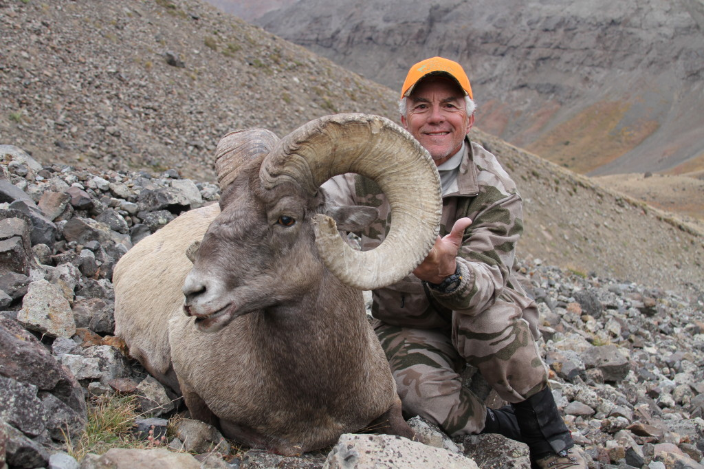 Bennie Rossetto, 2013 Desert Bighorn Sheep Dream Tag Winner.